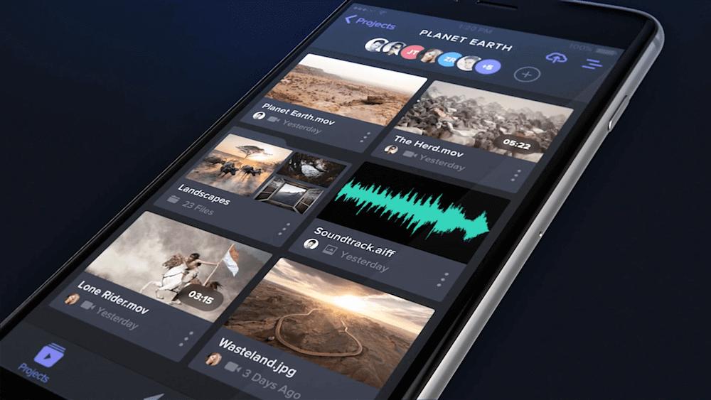 FrameIO for iPhone