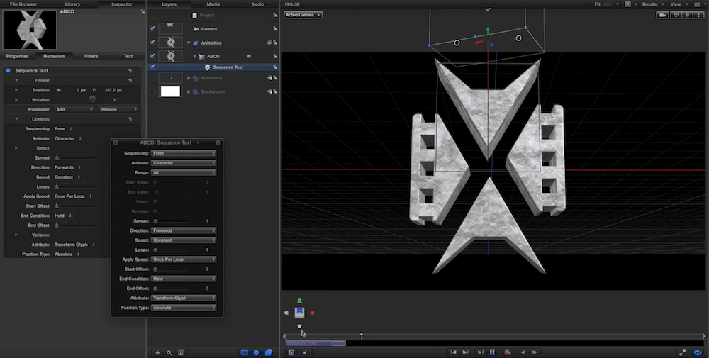Motion 3D Logo Animation Tutorial